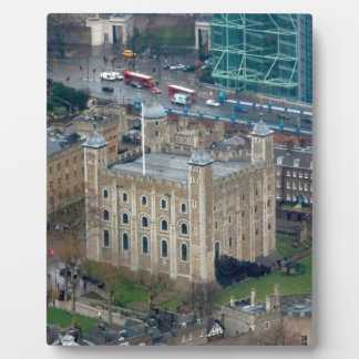 Super Tower of London England Display Plaque