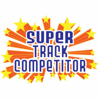 Super Track Competitor Acrylic Cut Outs