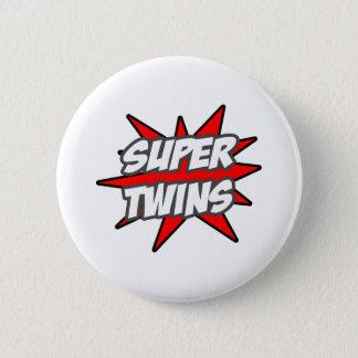 Super Twins Pinback Button