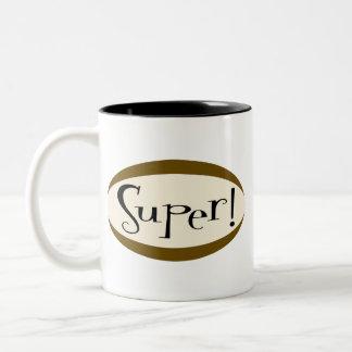 Super! Two-Tone Coffee Mug
