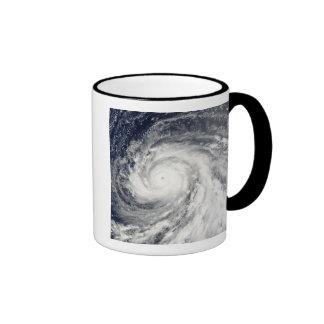 Super Typhoon Choi-wan over the Mariana Islands Ringer Mug