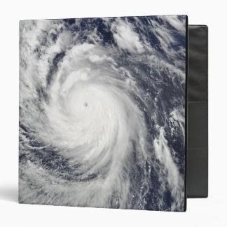 Super Typhoon Lupit 3 Ring Binder