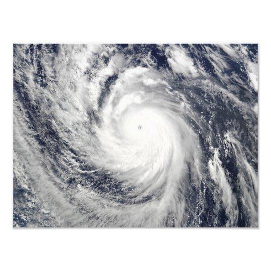 Super Typhoon Lupit Photo Print