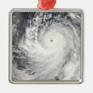 Super Typhoon Man-Yi Metal Ornament