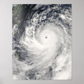 Super Typhoon Man-Yi Poster