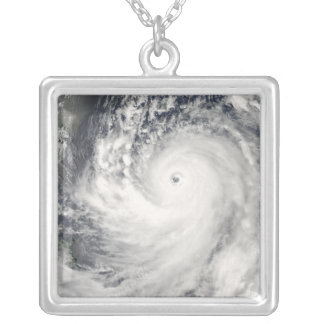 Super Typhoon Man-Yi Silver Plated Necklace