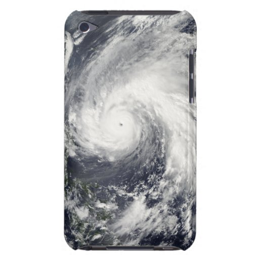 Super Typhoon Megi Barely There iPod Covers