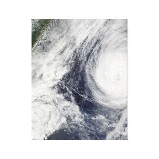 Super Typhoon, Parma over Luzon, Philippines Canvas Print