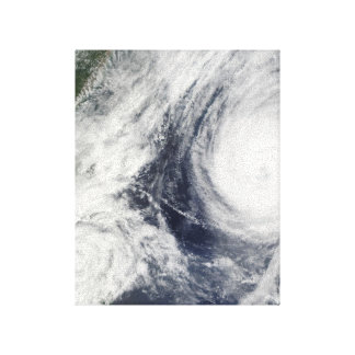 Super Typhoon, Parma over Luzon, Philippines Gallery Wrap Canvas
