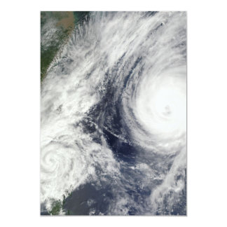 Super Typhoon, Parma over Luzon, Philippines Card