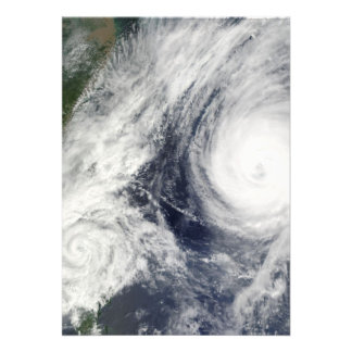 Super Typhoon, Parma over Luzon, Philippines Custom Invites