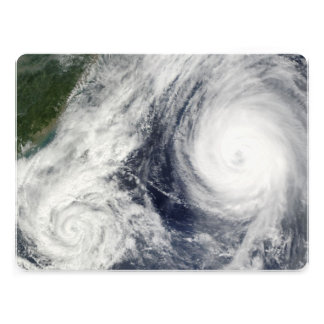 Super Typhoon, Parma over Luzon, Philippines Personalized Invitation