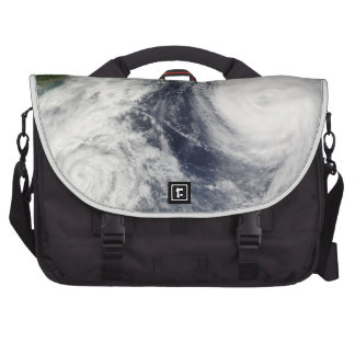 Super Typhoon, Parma over Luzon, Philippines Laptop Bag