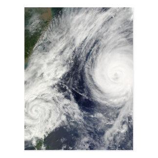 Super Typhoon, Parma over Luzon, Philippines Postcard
