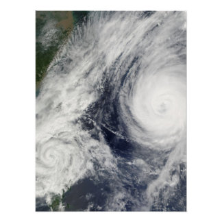 Super Typhoon, Parma over Luzon, Philippines Poster