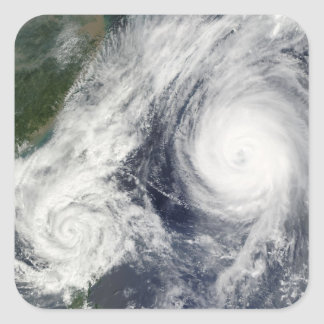 Super Typhoon, Parma over Luzon, Philippines Stickers