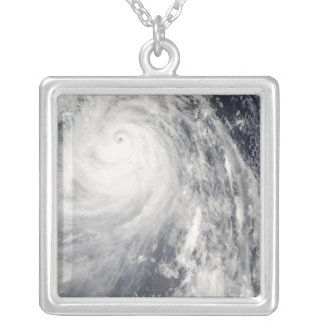 Super Typhoon Wipha Silver Plated Necklace