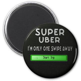 super uber 2 inch round magnet