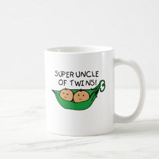 Super Uncle of Twins Pod Coffee Mug