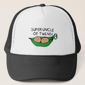 Super Uncle of Twins Pod Trucker Hat