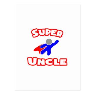 Super Uncle Postcard