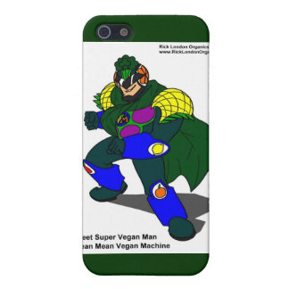 Super Vegan Man (Our Mascot) Gifts & Cards Cover For iPhone SE/5/5s