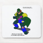 Super Vegan Man (Our Mascot) Gifts Tees & Cards Mouse Pad