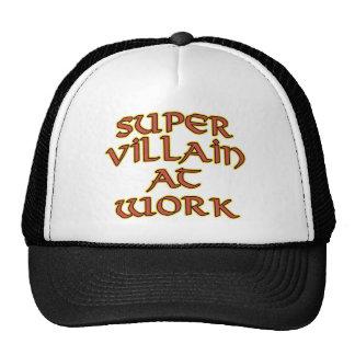 Super Villain at Work Trucker Hats
