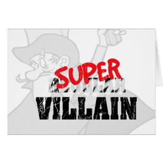 Super Villain... Card