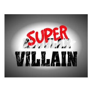 Super Villain... Postcard