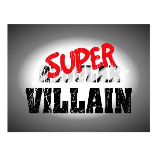 Super Villain... Postcard