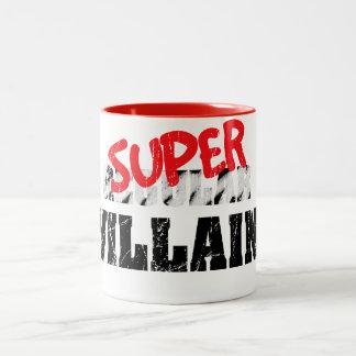 Super Villain... Two-Tone Coffee Mug