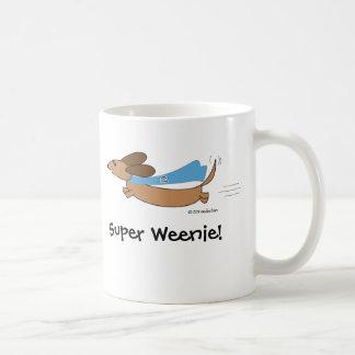 Super Weenie Dachshund Mug by Sudachan