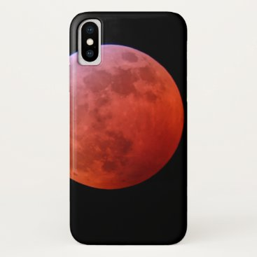 Super Wolf Blood Moon iPhone X Case