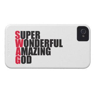 Super Wonderful Amazing God iPhone 4 Case-Mate Case