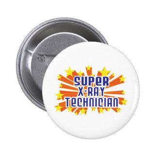 Super X-Ray Technician Pinback Button