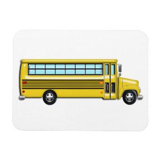 Super Yellow School Bus Magnet