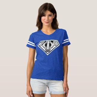 super zeta Blue T-shirt