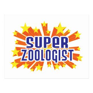 Super Zoologist Postcard