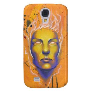 Superación del caso del iPhone de la bella arte de Funda Para Galaxy S4
