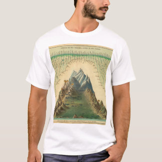 Superannuated World Map 38 T-Shirt