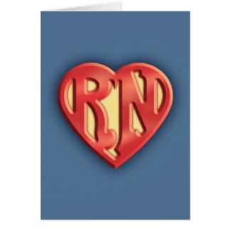 Superb RN IV Greeting Card