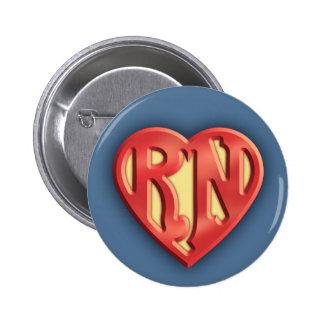 Superb RN IV Pinback Button