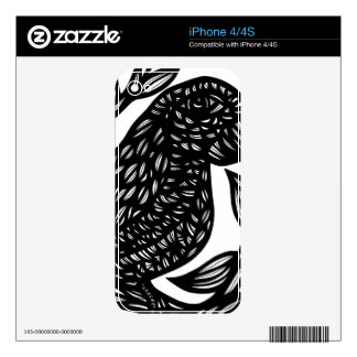 Superb Sociable Successful Kind iPhone 4S Decal