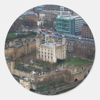 Superb! Tower of London United Kingdom Classic Round Sticker