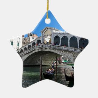 Superb! Ultimate Venice, Rialto, Grand Canal Ceramic Ornament