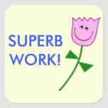 [ Thumbnail: Superb Work! Sticker ]