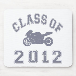 Superbike - Gray Mouse Pads