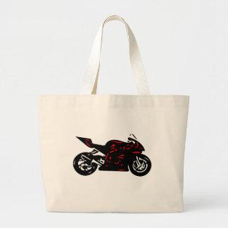 Superbike Large Tote Bag