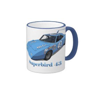 Superbird 43 ringer coffee mug